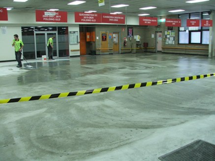 Canberra Mail Centre - Floor Grinding & Sealing2