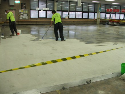 Canberra Mail Centre - Floor Grinding & Sealing